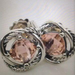 DY Morganite Earrings